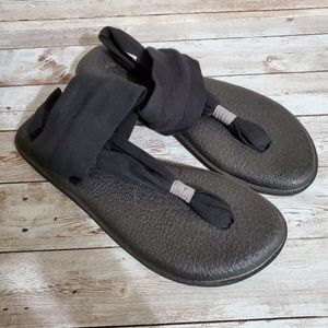 Sanuk Sling Back Yoga Mat Sandals